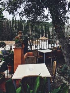 Cafe in Granada